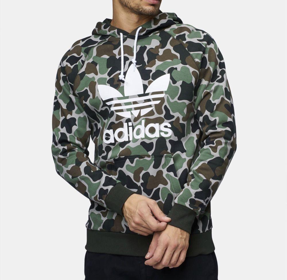 Adidas Camo hoodie #fashion #clothing #shoes #accessories