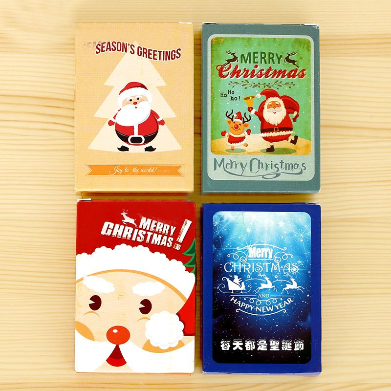 TIAMECH 28Pcs/Pack New Small Christmas Special Combination Postcard ...