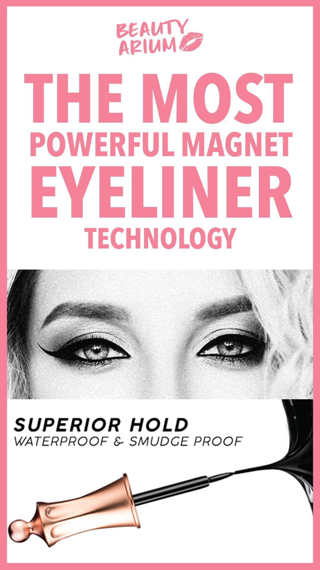 Magnetic eyeliner by Beautyarium Store    Premier eye-liner magnetique et systeme de faux cil