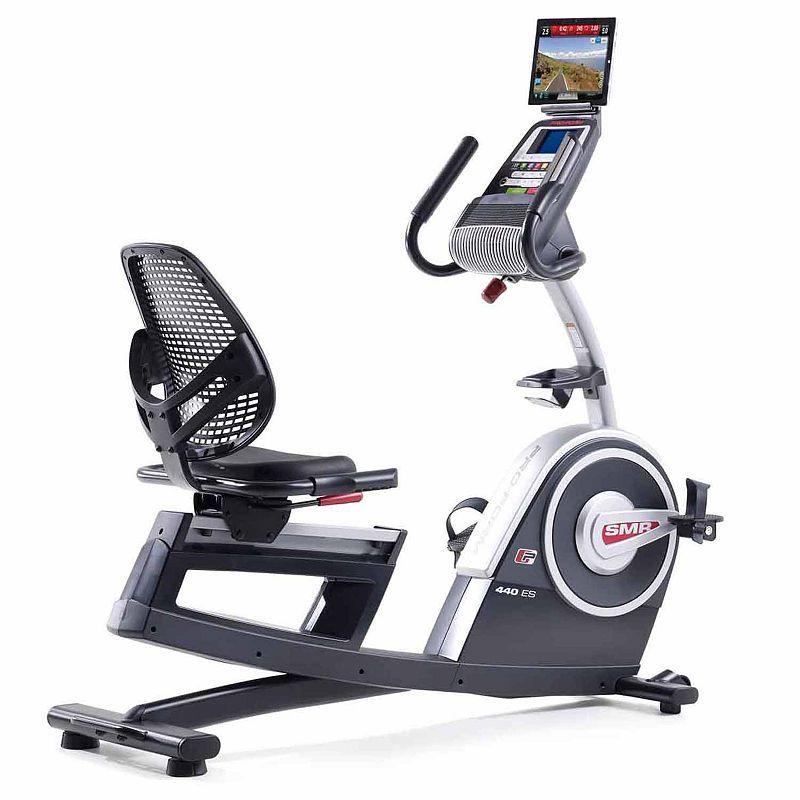 Proform 440 Es Recumbent Bike Biking Workout Exercise Bike Reviews
