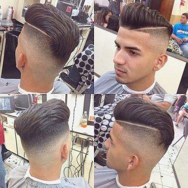 Nuevo corte de pelo con raya