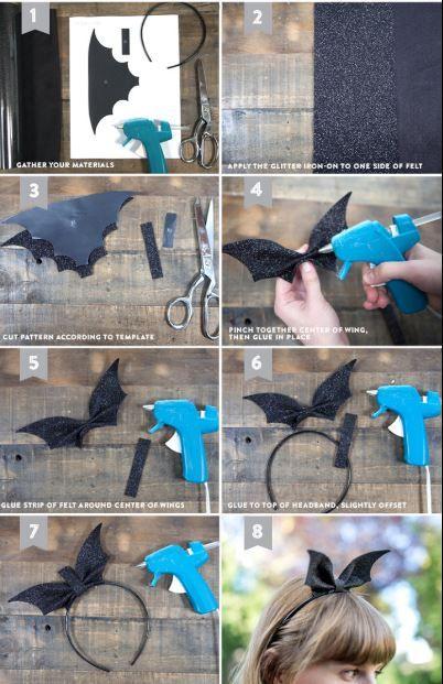 3 disfraces originales para la cabeza DIY
