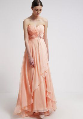 luxuar fashion ballkleid apricot kleider pinterest ballkleid zalando und. Black Bedroom Furniture Sets. Home Design Ideas