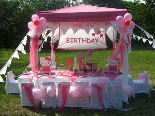 Kids Dream Parties: Mias- Hello Kitty Party