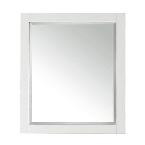 28 X 32 Avanity Wall Mount Mirror White 14000 M28 Wt