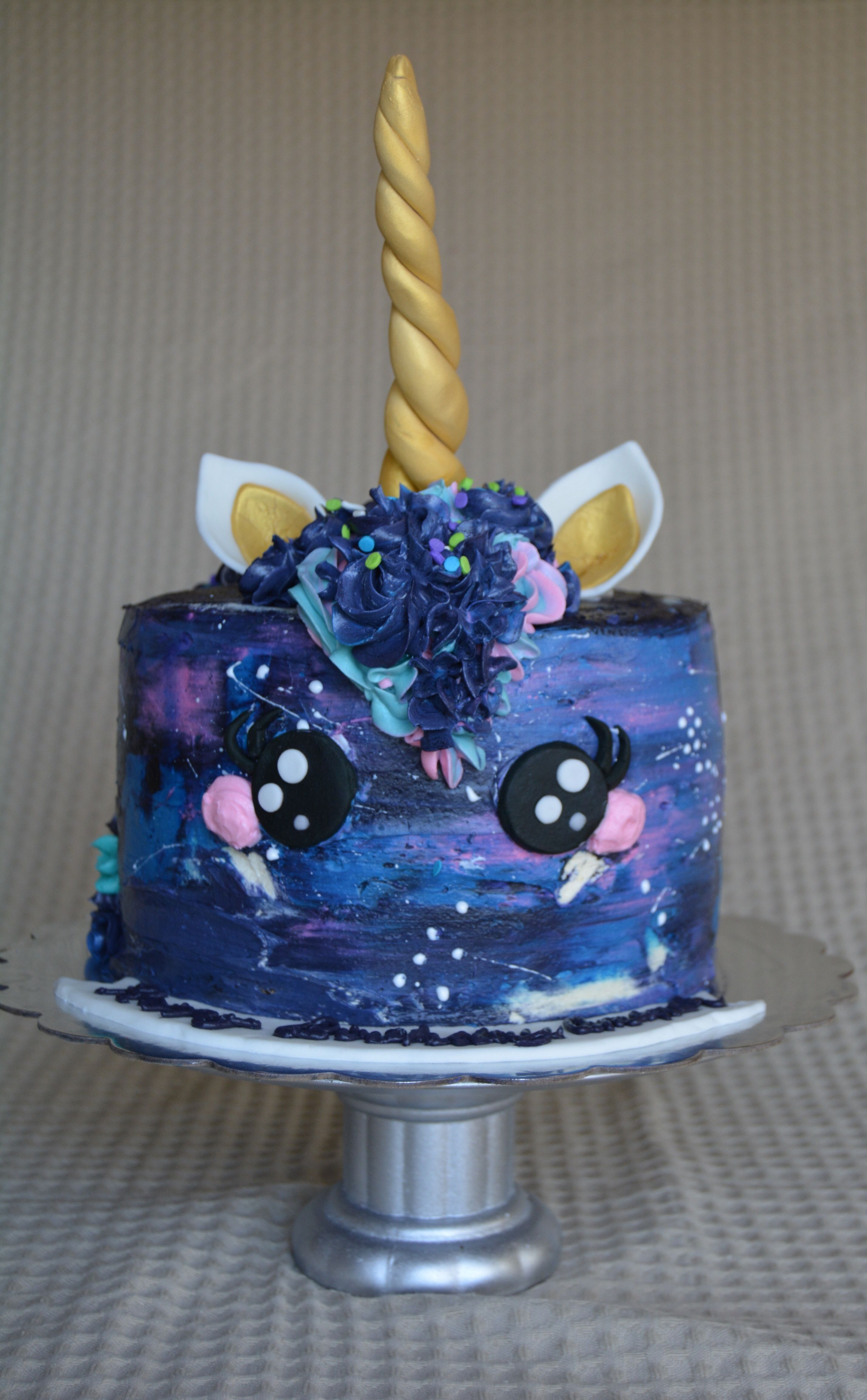 Galaxy Unicorn Cake By Sheri Wilson