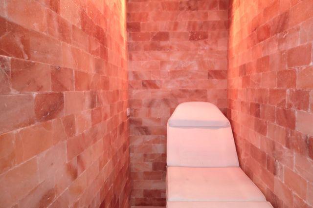 16 X 16 Surface Area 256 Sq Ft Himalayan Salt Cave Sauna Chamber Relaxation Salt Room Salt Cave Himalayan Salt Cave