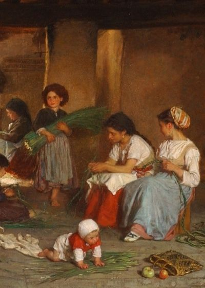 Theophile Duverger (1821-1886) artist | Odon Wagner Gallery Toronto
