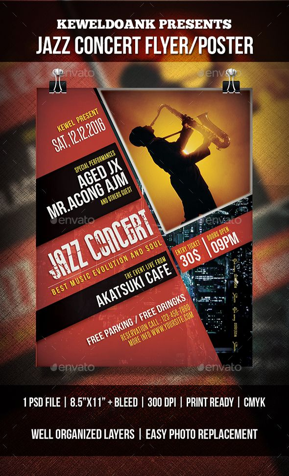 Pin by best Graphic Design on Flyer Templates Pinterest Concert