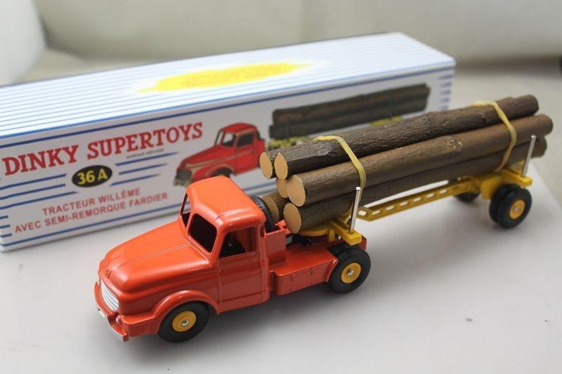Dinky Supertoys Camion Willème Fardier RÉF 36 A AU 1 50 DE Dinky Toys Atlas | eBay