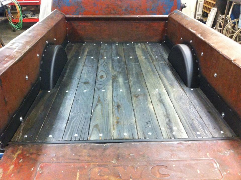 super cool reclaimed wood bed floor Vehicles Custom