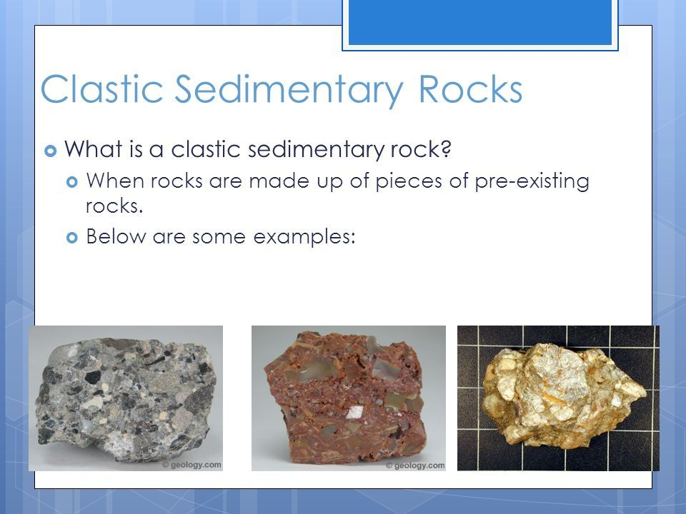 Clastic Sedimentary Rocks Earth Science Pinterest Earth Science