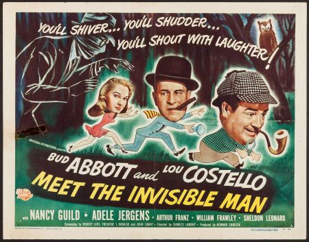 Abbott And Costello Meet The Invisible Man Universal
