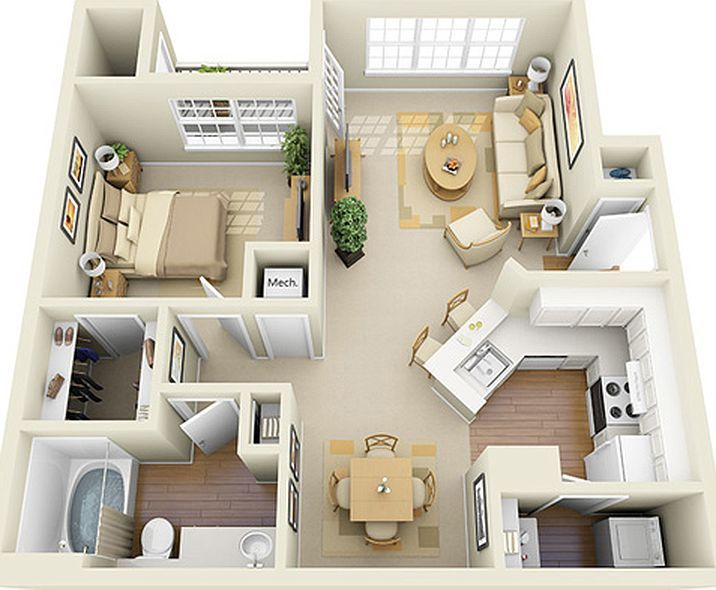 Glen Park Apartment Homes Apartment Rentals Smyrna Ga Zillow One Bedroom House Sims House Small House Plans
