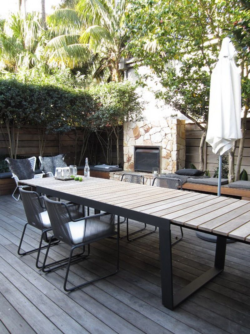 Great Contemporary Outdoor Patio Extension Tables Buiten
