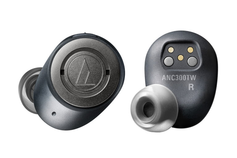 Audio Technica Debuts Its First True Wireless Earbuds With Anc Digital Trends Earbuds Wireless Earbuds Audio Technica