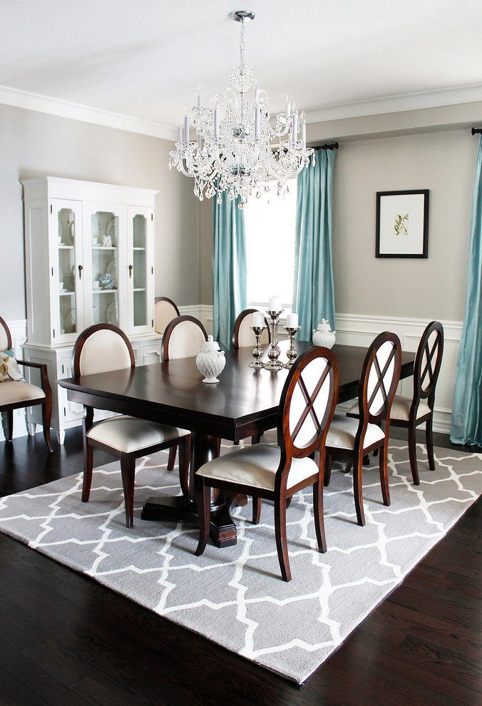 Httpwwwamdolcevita  Home Ideas  Pinterest  Dining Room Amazing Dark Grey Dining Room Review