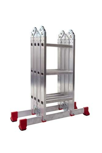 Werner 12 Way Multi Purpose Combination Ladder With Platform Storage Design Combination Ladders Step Ladders