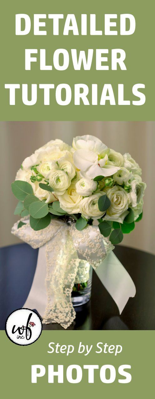 Bulk Wedding Flowers And Free Flower Tutorials Learn How To Make