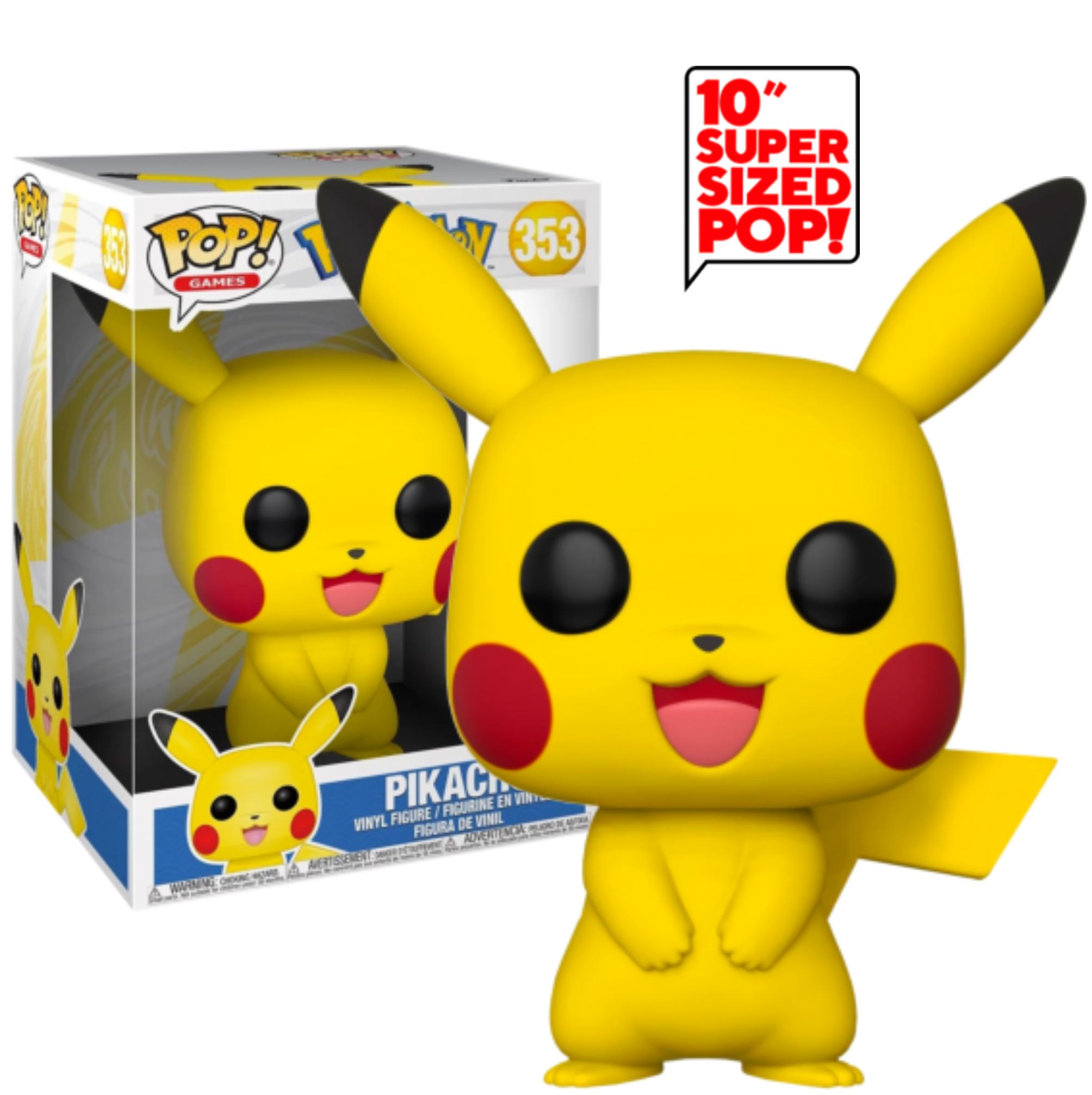 Photo of Pokemon – Pikachu 10″ Pop! Vinyl Figure