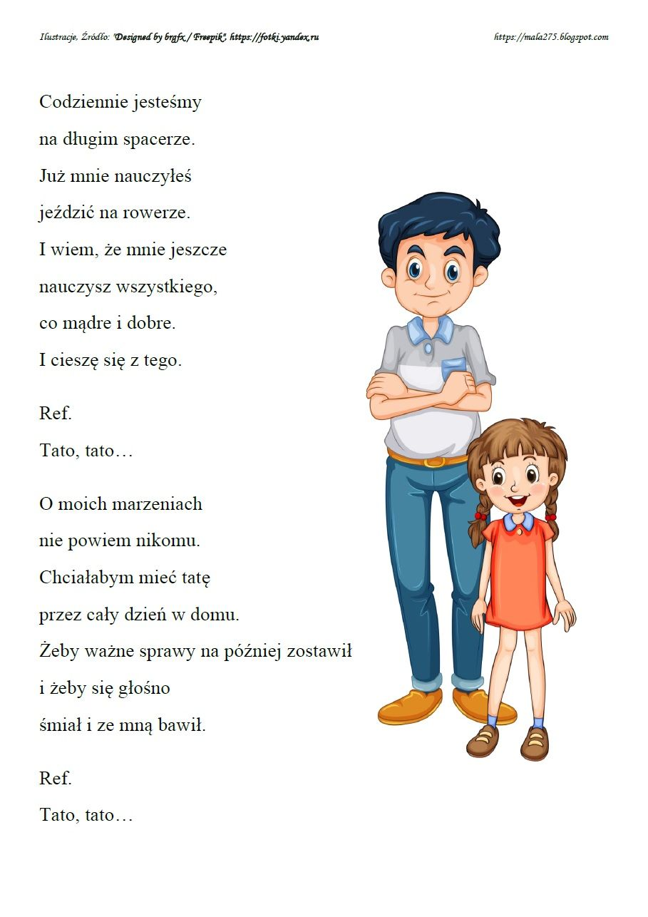 Blog Edukacyjny Dla Dzieci Dzien Mamy I Taty School Songs Music Education Preschool