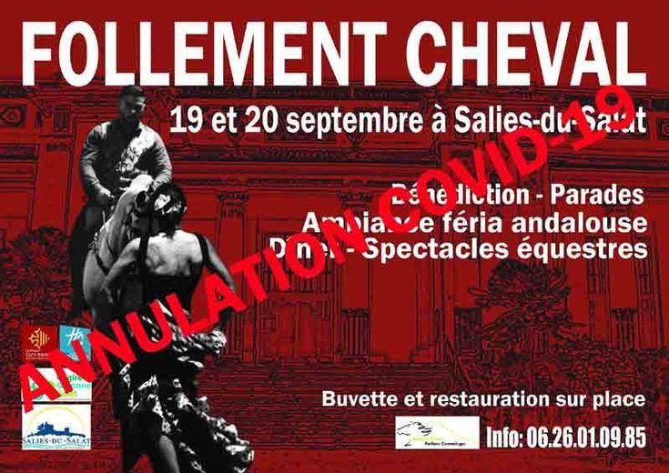 Affiche-ANNUL-Follement-Cheval-8°-19+20-09-2020-31260-Salies-du-Salat