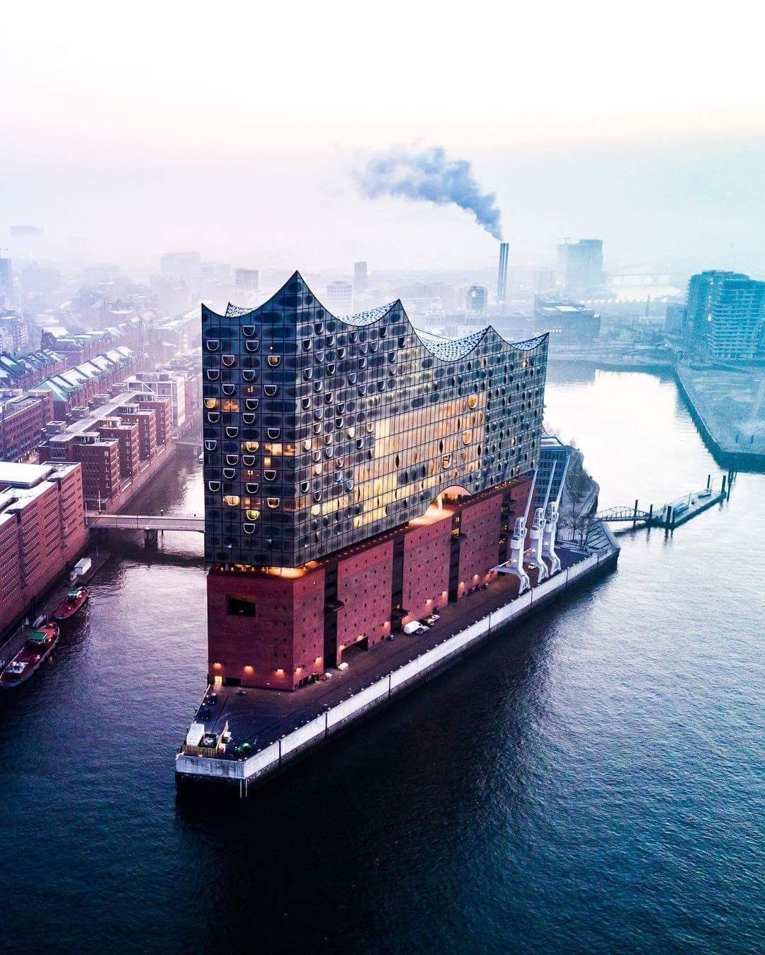 Elbphilharmonie Hamburg Germany Hamburg Hamburg Hafen Stadt Hamburg