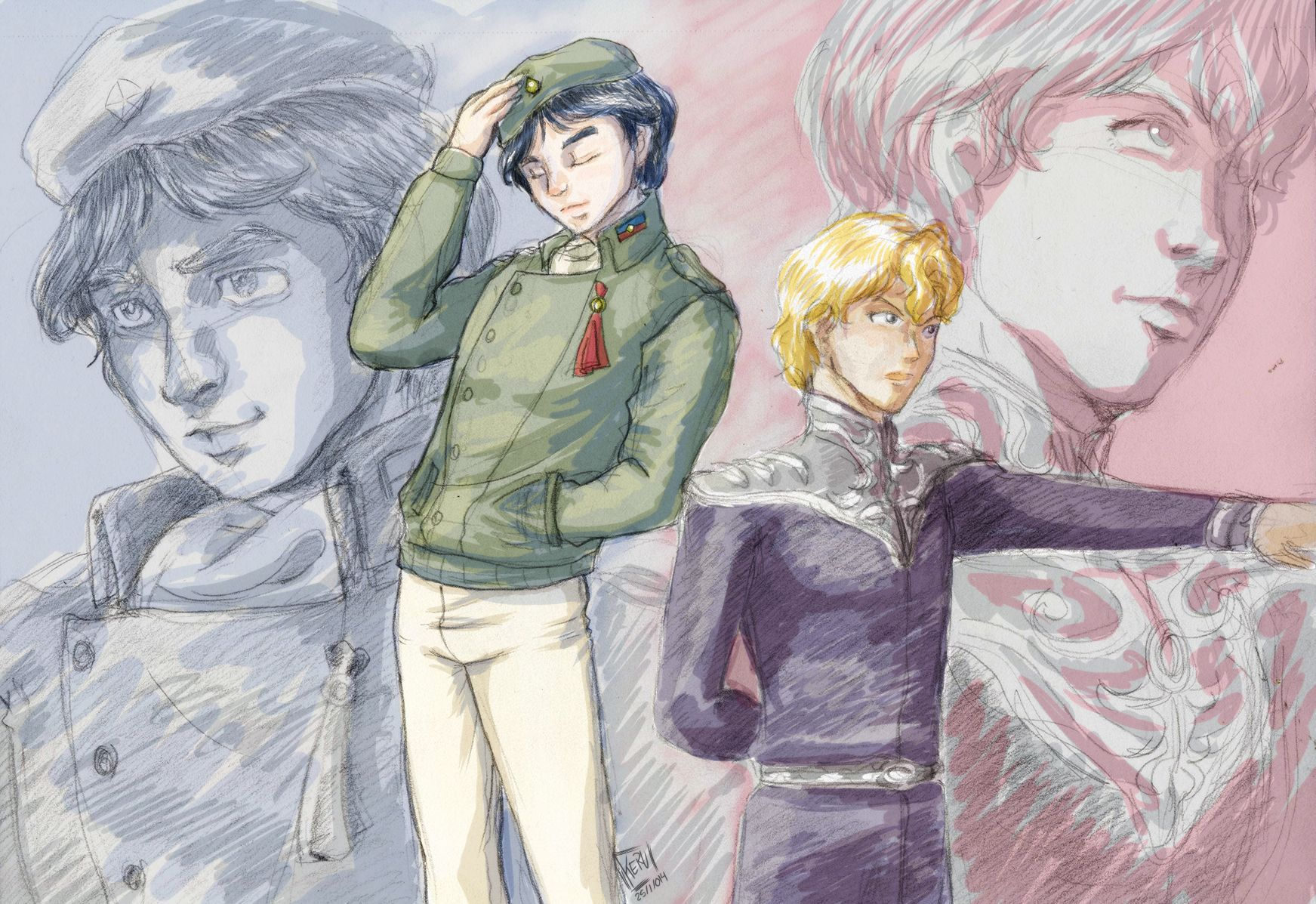 Legend of the Galactic Heroes!! One of my fav anime series!!