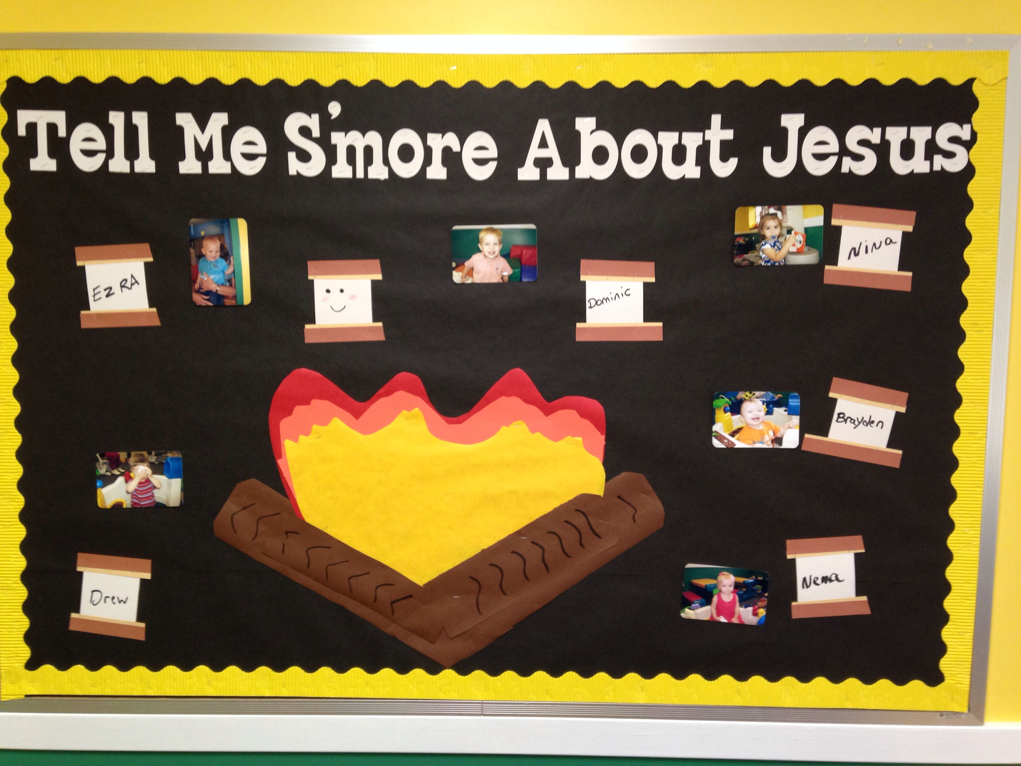 May Summer Bulletin Board S Mores Check Out My Other