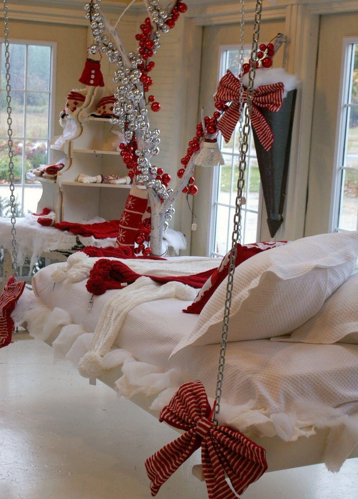 Schlafzimmer Weihnachtlich Dekorieren