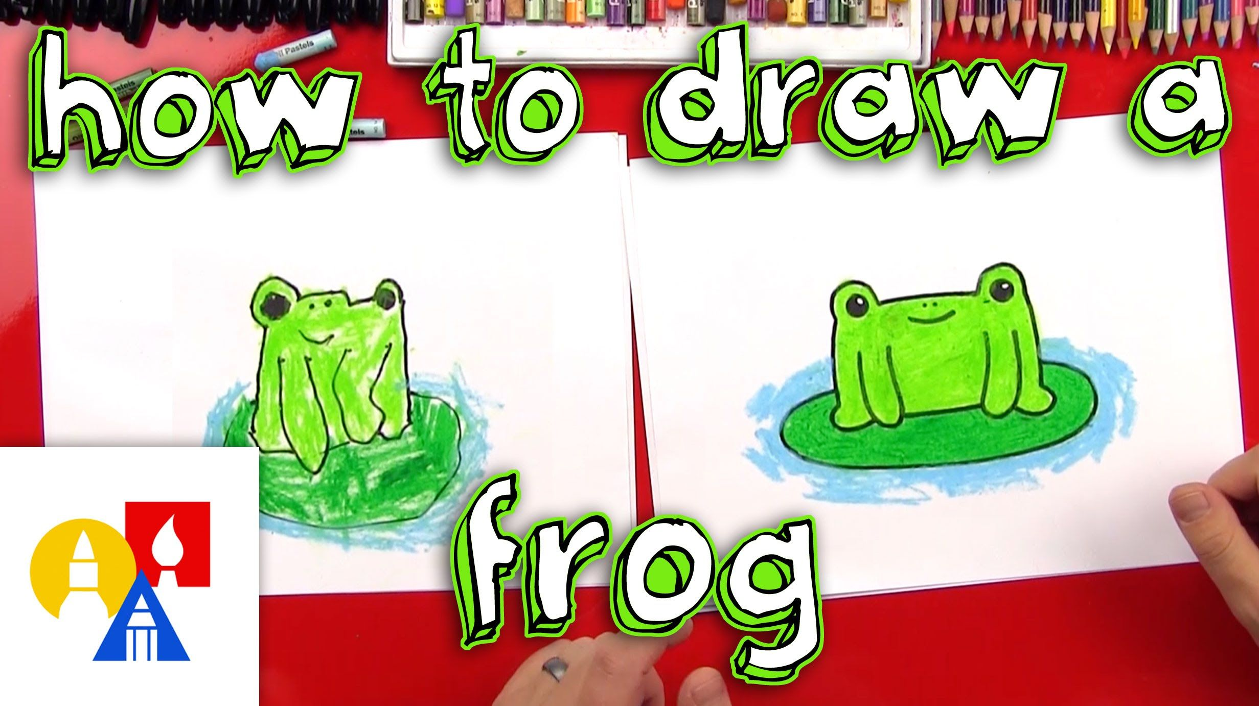 How To Draw A Cartoon Frog - good youtube channel for ...