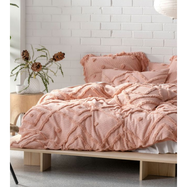 Linen House Adalyn Peach Quilt Cover Set Bedding Bed Linen The Newest Additions To Our Ever Popular Cotton C Quilt Cover Sets Bed Linens Luxury Bedding Sets