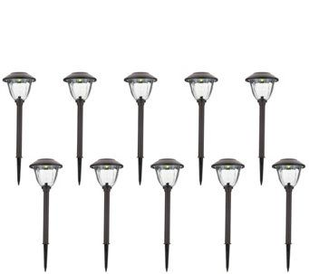 Energizer 10 Piece Solar Landscape Light Set M51493 Solar Landscape Lighting Landscape Lighting Outdoor Furniture Sets