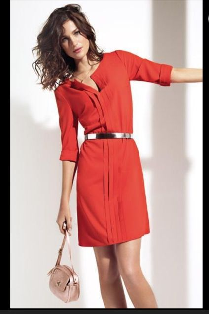 c4136fe6f719 Caroll   Idée de style   Pinterest   Casual styles, Robe and Cosmetics