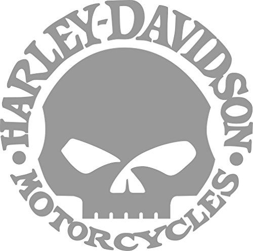 Willie G Skull Harley Davidson Motor Cycles Window Decal