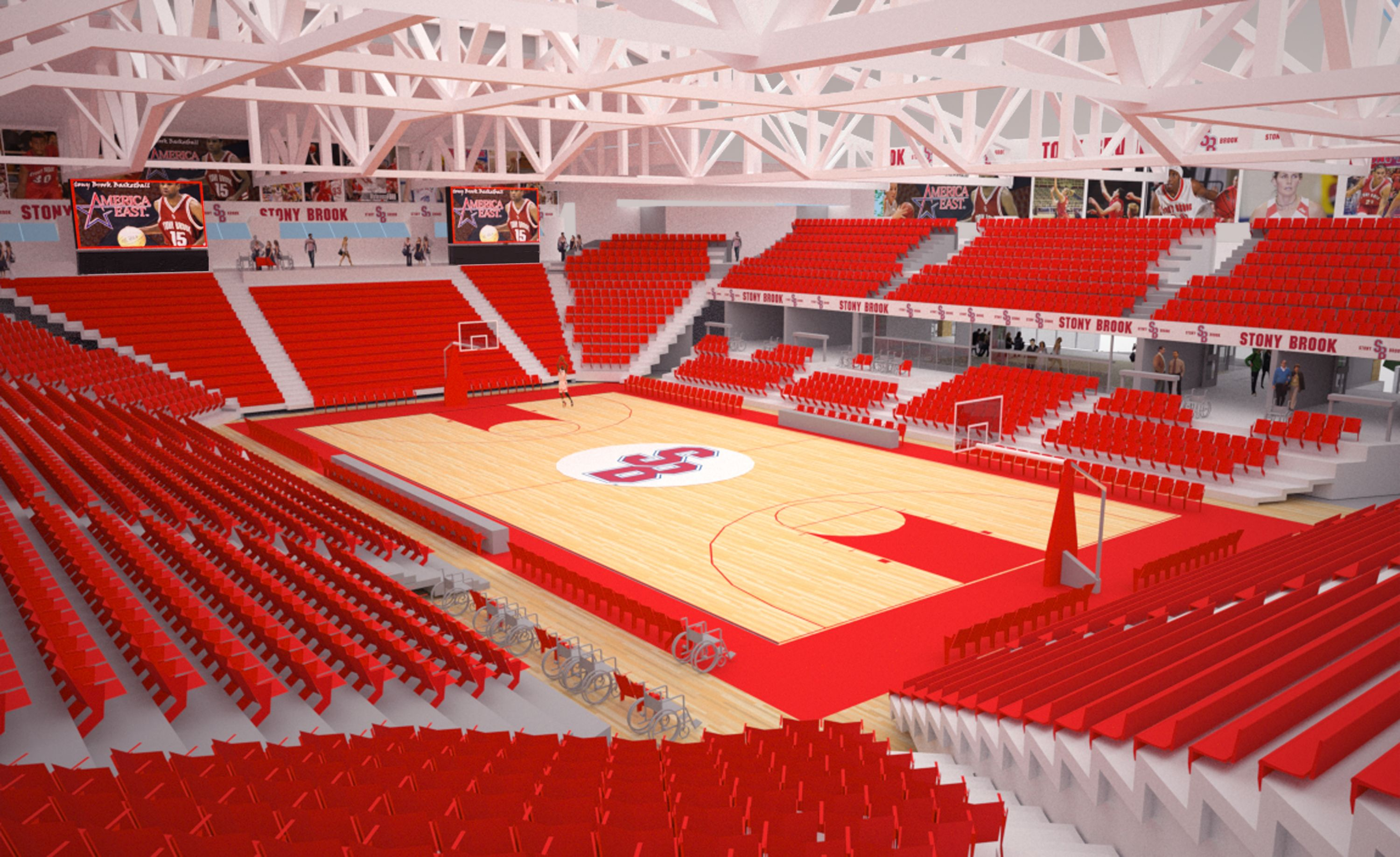 The Conclusion Of The Expansion On Stony Brook Arena Stony Brook University Medical University Education Guide
