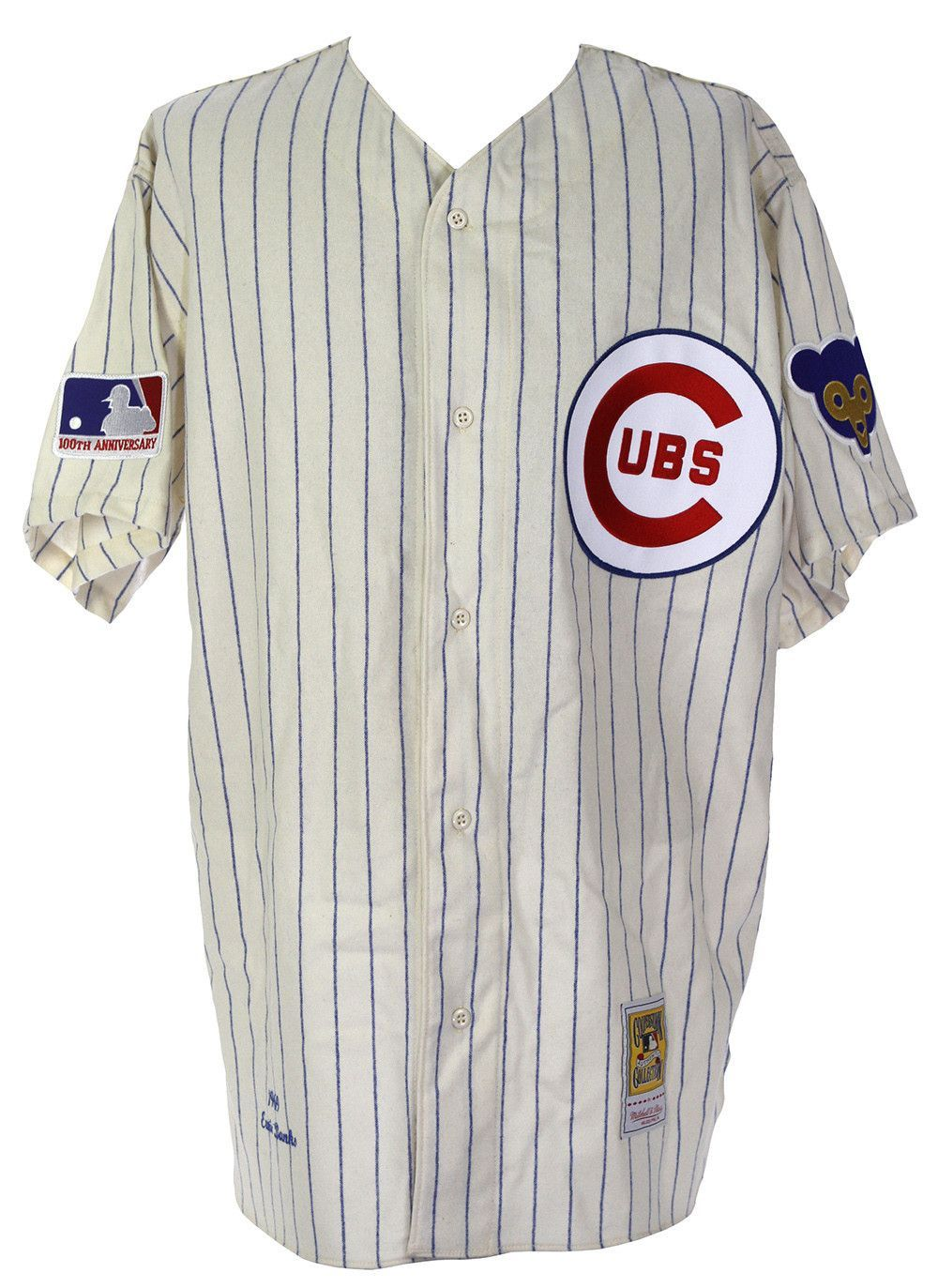 promo code 488f6 8dbd3 Chicago Cubs 1969 Ryne Sandberg Mitchell & Ness 100th ...