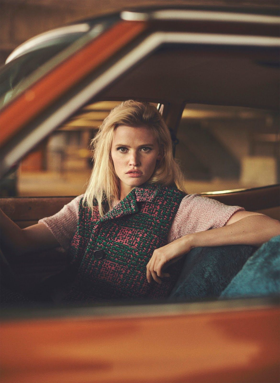 back seat driver: lara stone by emma tempest for russh #66 october / november 2015 | visual optimism; fashion editorials, shows, campaigns & more!
