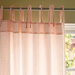 Blush Swiss Dot Window Panel Serena Lily Pink Curtains Rug