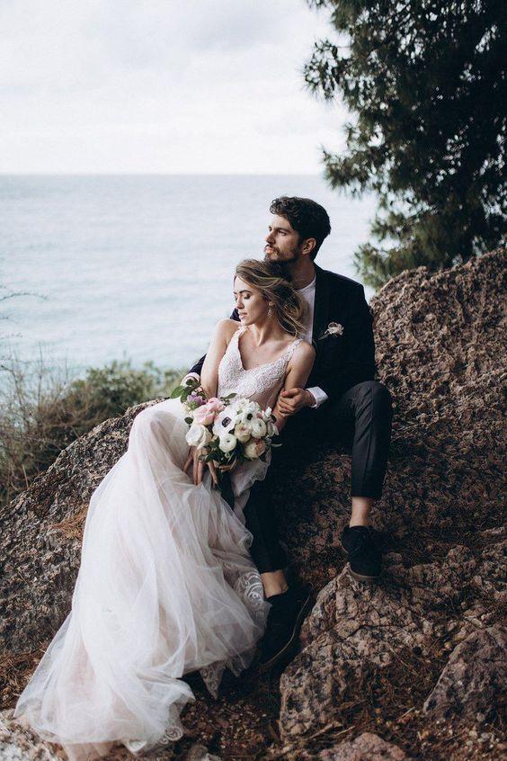 Photo of #Hochzeit #Fotografie #Idee #Hochzeitsfotografie # Weißes Kleid