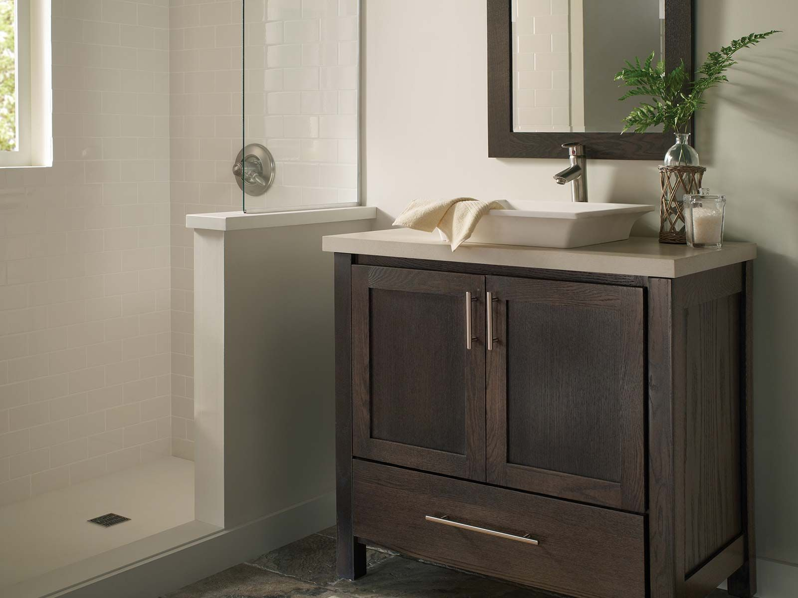 Re Bath Omaha Uses Custom Cabinets From Bertch In Their Remodels