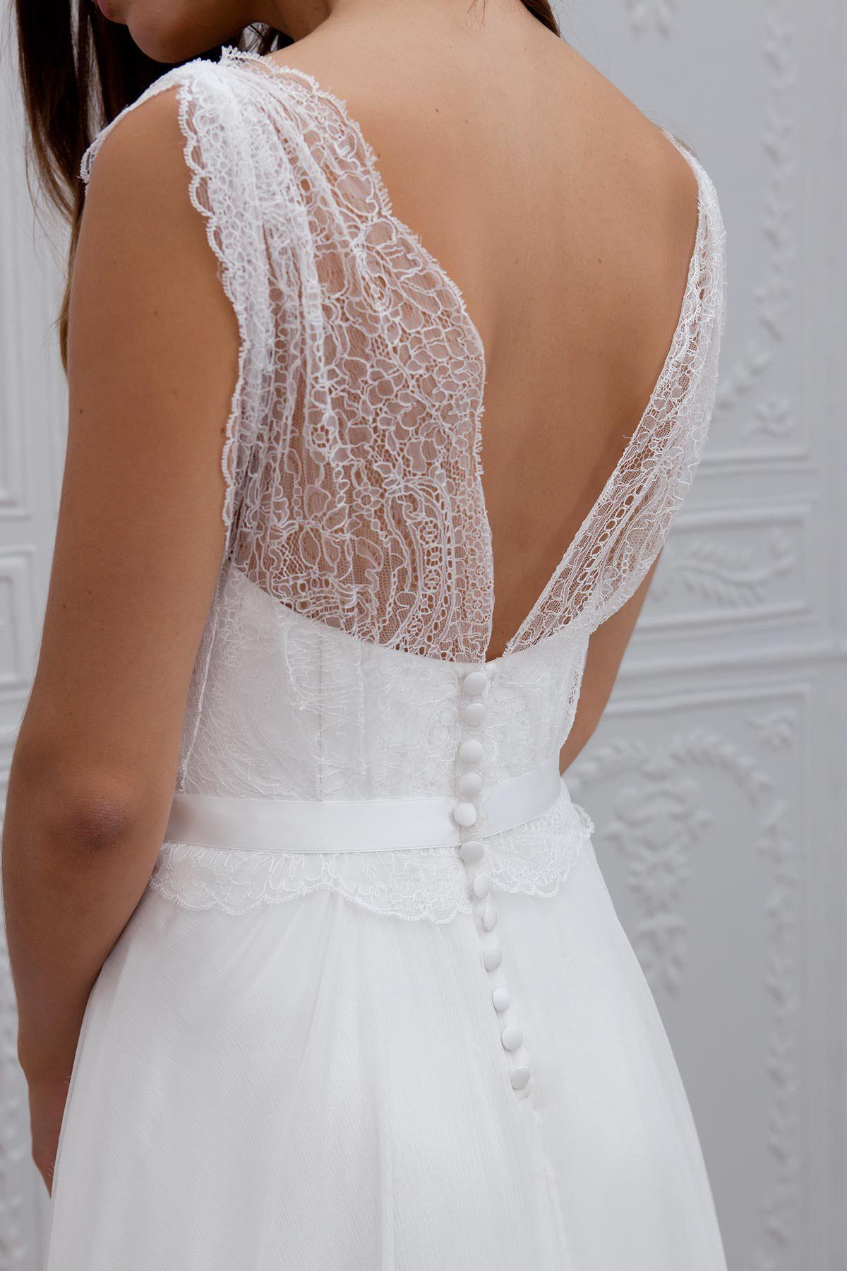 86f5a8ac3a729 wedding dress robes mariee marie laporte 35 Magnifique Robe De Mariée,  Belle Robe, Robe De Mariée Paris, Robe Mariée