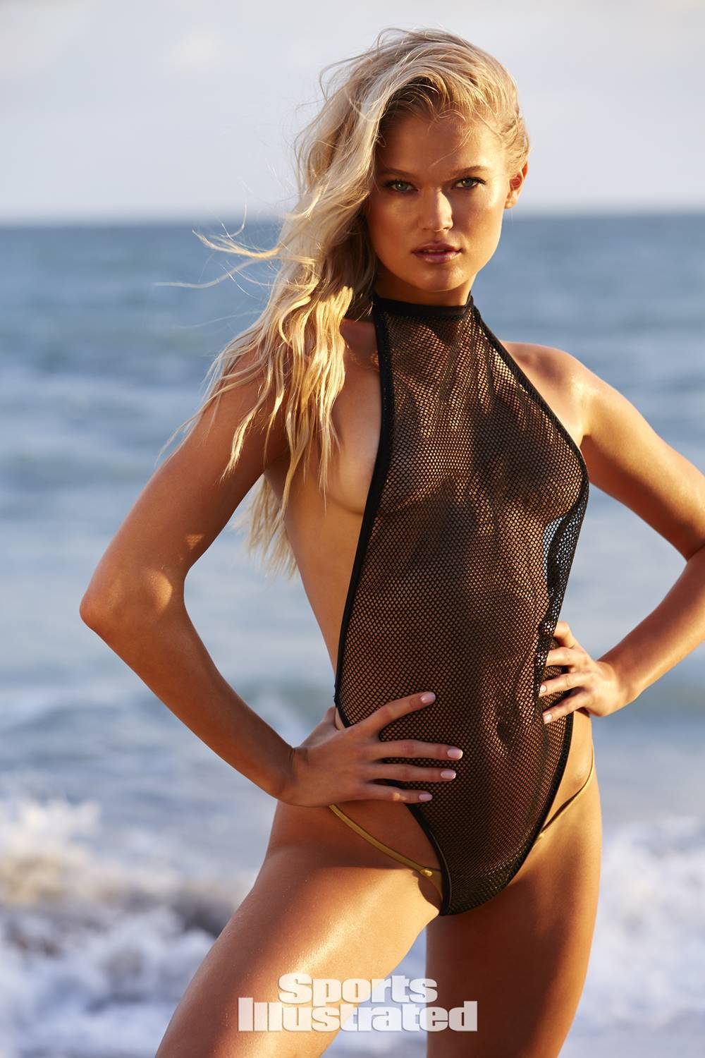 3b1609e32b Item details: Net thong one piece as seen in Sports Illustrated Swimsuit  2018 edition Low-rise thong bottom Made in U.S.A. Return policy: Due to  hygiene ...