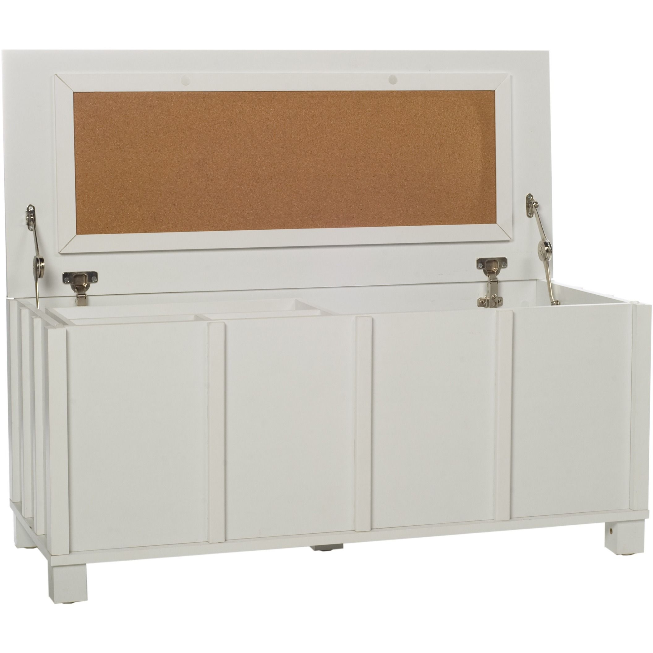 Comfort Products Home Storage Cork Filing Trunk with Organizer Tray ...