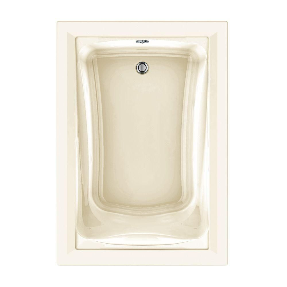 American Standard Green Tea 5 ft. x 42 in. Reversible Drain EverClean Air Bath Tub with Chromatherapy in
