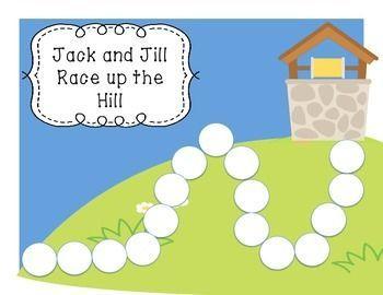 Jack And Jill Nursery Rhyme Math Workstation