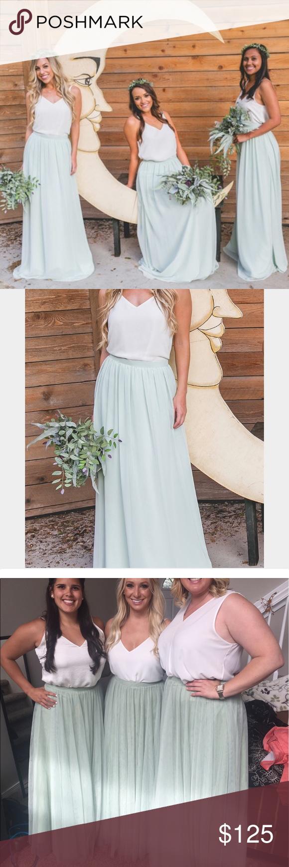 Wedding dress donation  Donating Tomorrow Host Pick  Revelry skirt NWT  My Posh Picks