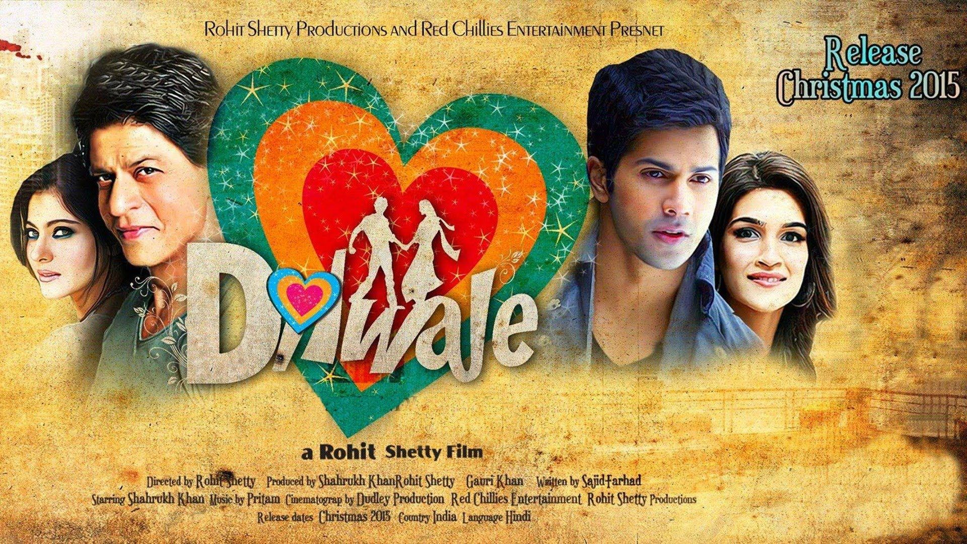 dilwale 2015 movie hd