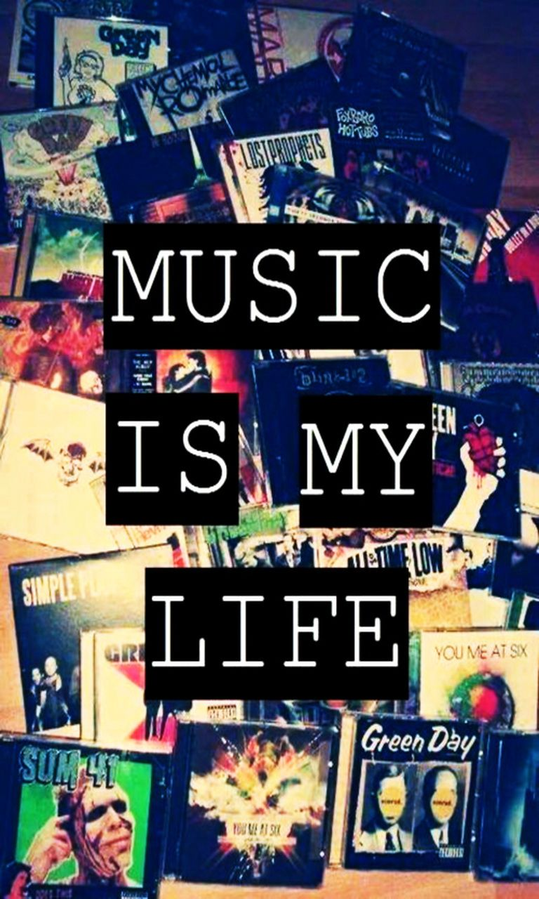 Is music 🎶 my life? No, but I like it very much 😍
