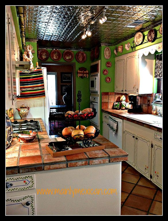 Mexican Style Home Decor Mainly Mexican Kitchens Pinterest Mexican Style Kitchens And
